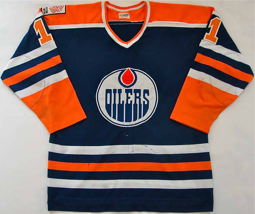 1979-80 Mark Messier Edmonton Oilers Game Worn Jersey