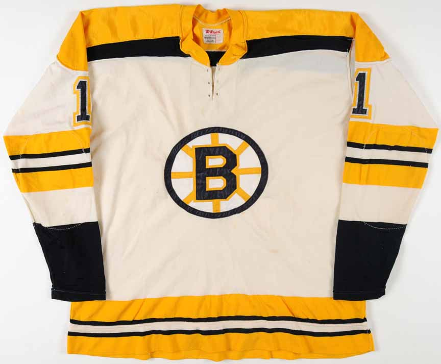 1970-72 Eddie Johnston Boston Bruins Game Worn Jersey ...