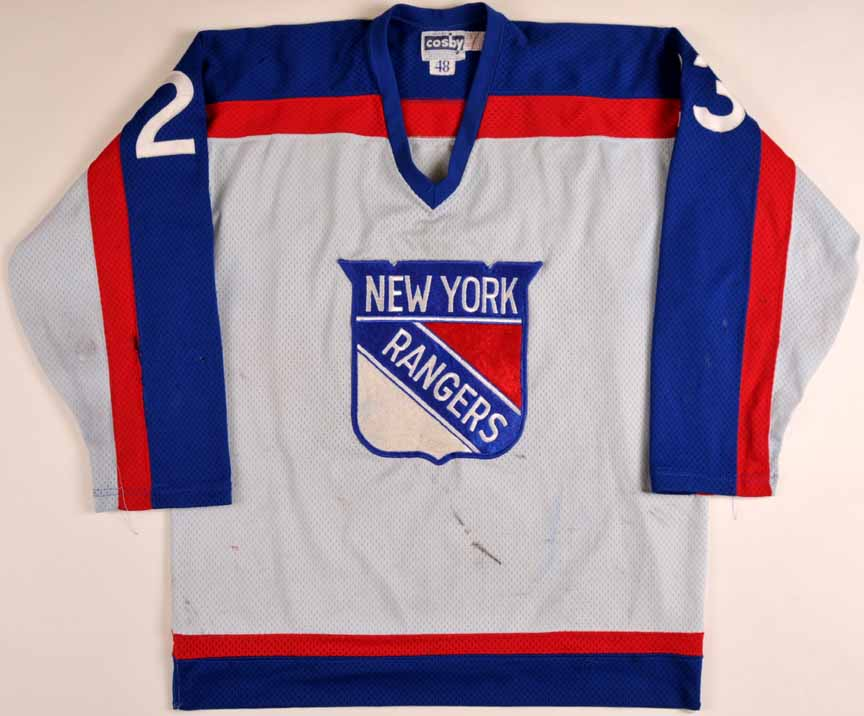 new styles a868a 2fcf7 1977-78 Lucien Deblois New York Rangers Game Worn Jersey ...