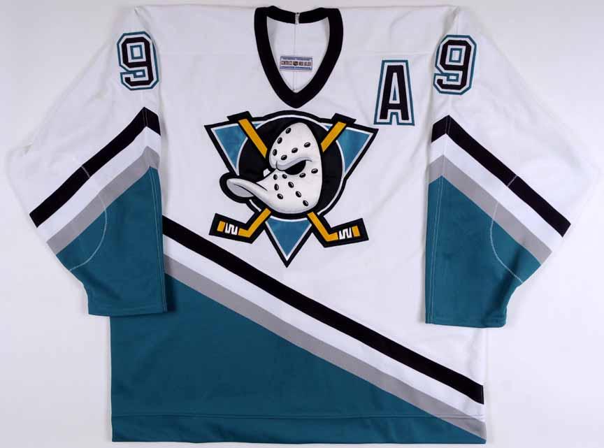 0836423ca2a Paul Kariya Anaheim Mighty Ducks Autographed Authentic Jersey ...