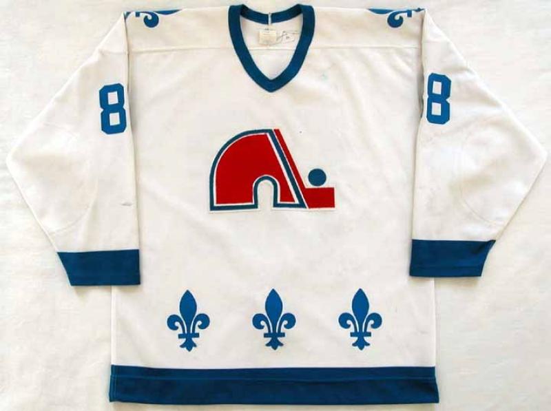 info for f2fd9 5cd0b 1988-89 Joe Sakic Nordiques Game Worn Jersey - Rookie Jersey ...