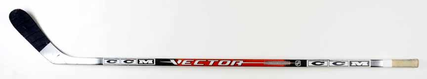 Alexander Ovechkin Washington Capitals Black Red CCM Game Used Stick ... 2e036cf04