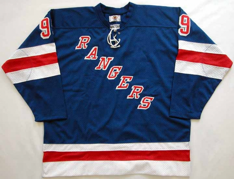 free shipping 8154f a98c4 Wayne Gretzky Rangers Authentic Jersey - Autographed - JSA ...