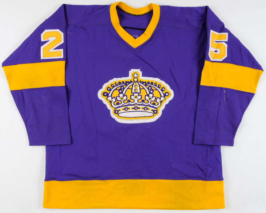 reputable site e8331 94cab 1977-78 Darryl Edestrand & Larry Carriere LA Kings Game Worn ...