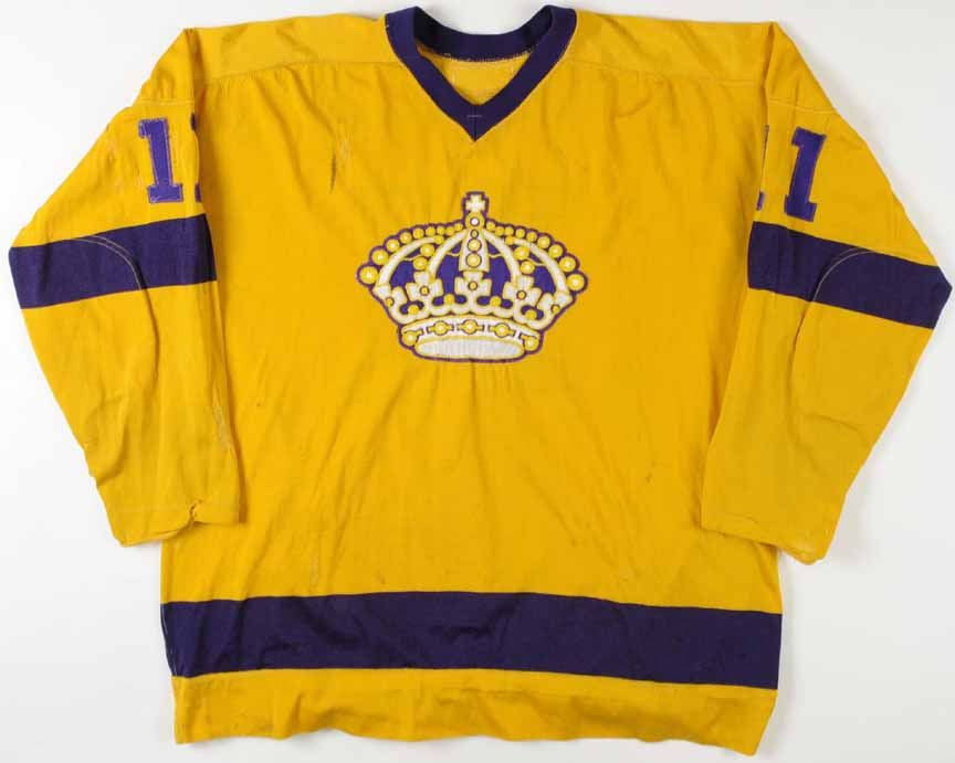 size 40 adee7 efeaf 1968-69 Bill White Los Angeles Kings Game Worn Jersey - All ...