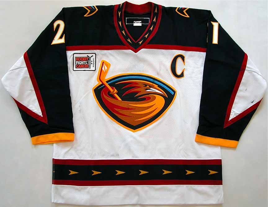 ... Home NHL Hockey Jersey 2001-02 Ray Ferraro Atlanta Thrashers Game Worn  Jersey - KOHO ... 6105c3d9d
