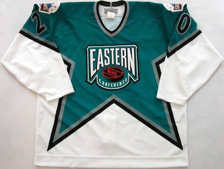 1993-94 Alexei Yashin NHL All Star Game Worn Jersey -