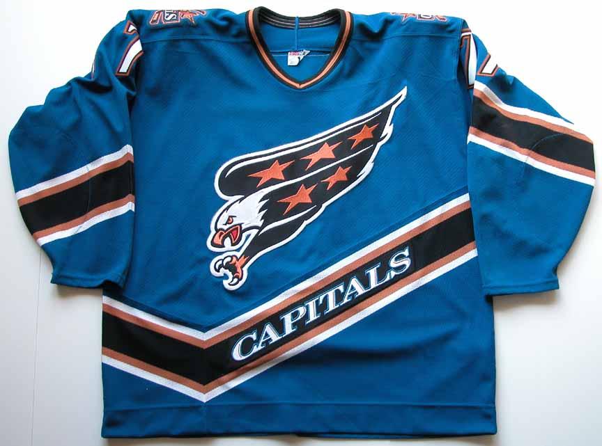 Adam Oates Autographed Washington Capitals Authentic Jersey ... 830ea0895f2