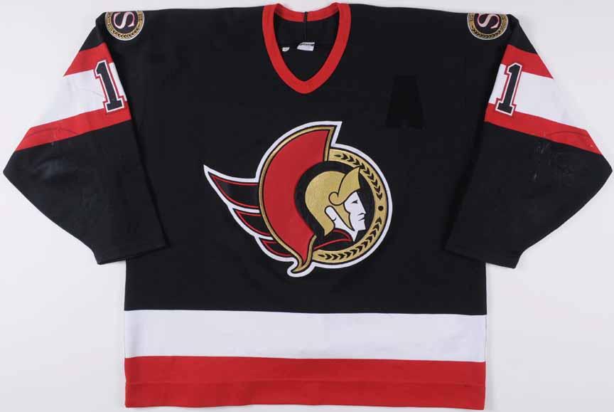 low priced 4727f b5958 1997-98 Daniel Alfredsson Ottawa Senators Game Worn Jersey ...