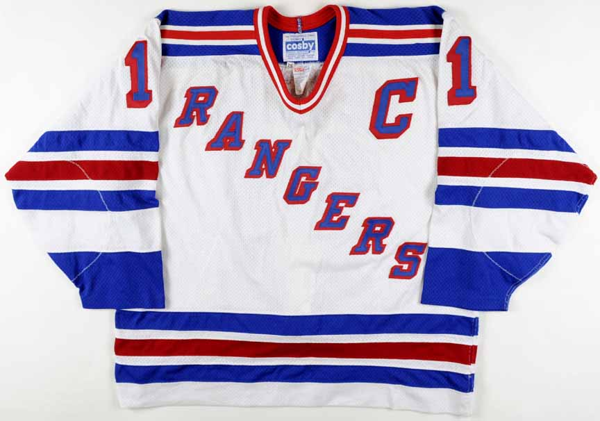 separation shoes 1e9a6 336f0 Mark Messier New York Rangers Authentic Jersey ...