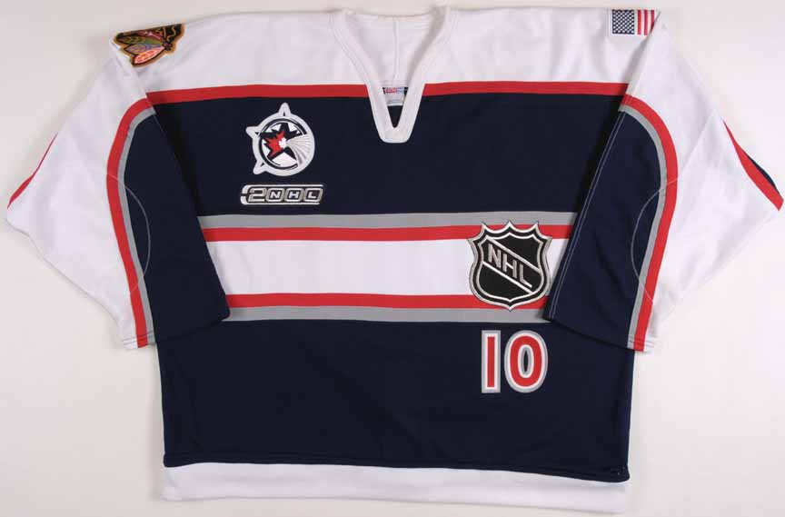 d1dc2a6076e4d7 1999-00 Tony Amonte NHL All Star Game Worn Jersey -