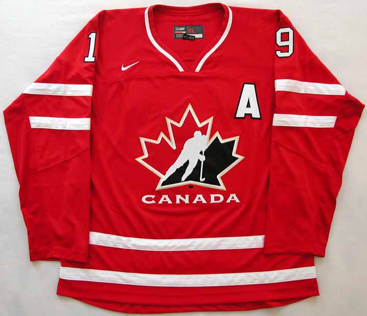 finest selection 14925 504d7 John Tavares Team Canada Authentic Jersey: GAMEWORNAUCTIONS.NET