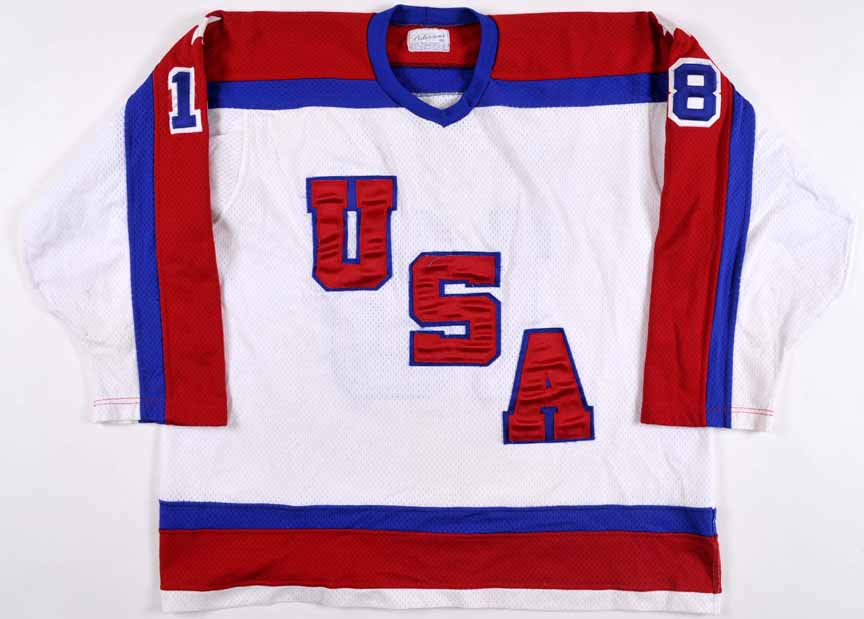 1984 Al Iafrate Team USA Pre-Olympic Game Worn Jersey - The St. Paul ... 96cd61a0019