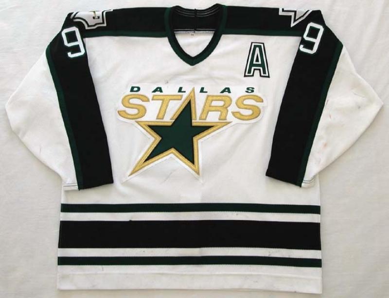 1990 S Mike Modano Stars Game Worn Jersey