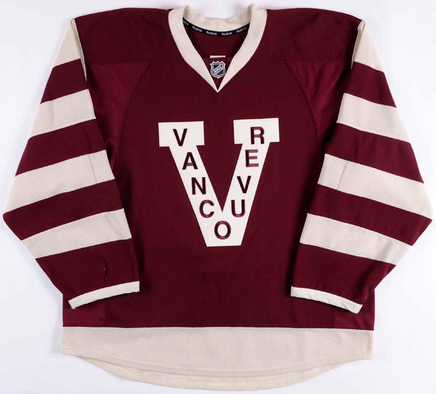 2012-13 Steve Pinizzotto Vancouver Canucks Game Worn Jersey - Rookie -  Millionaires - Team 68d282835