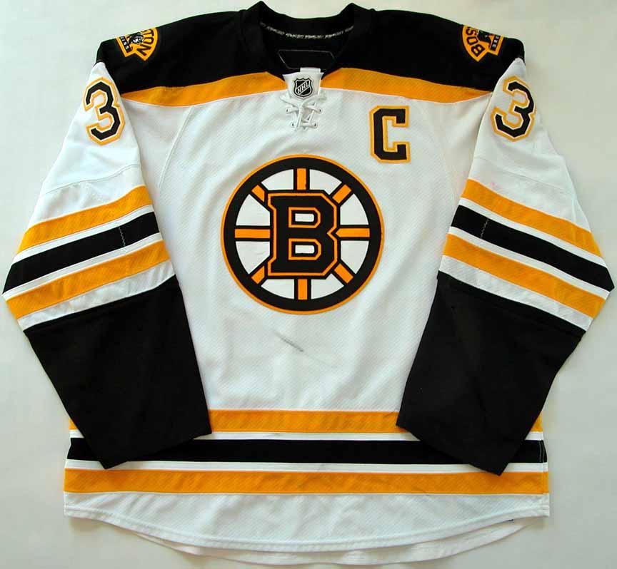on sale 002b6 52514 2009-10 Zdeno Chara Boston Bruins Game Worn Jersey - Photo ...
