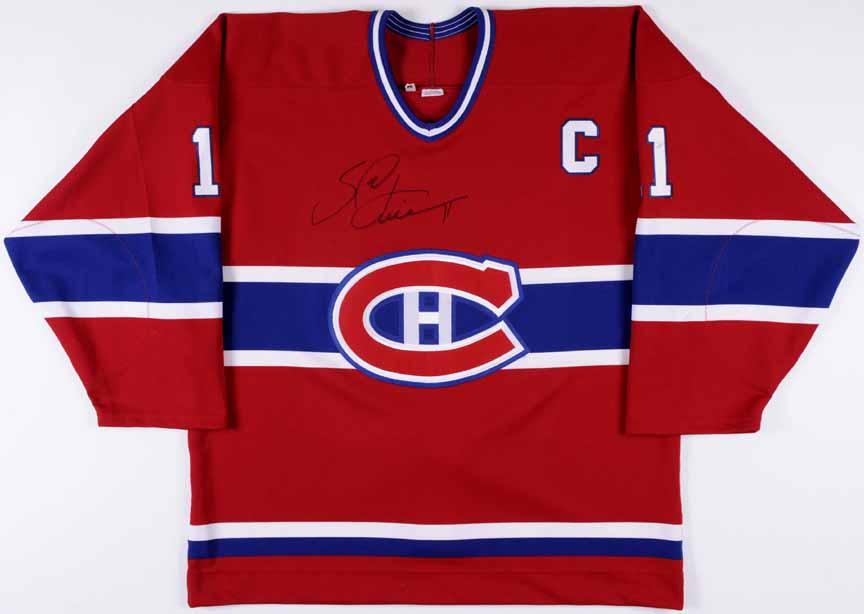 2000-01 Saku Koivu Montreal Canadiens Game Worn Jersey ... 278457c8a