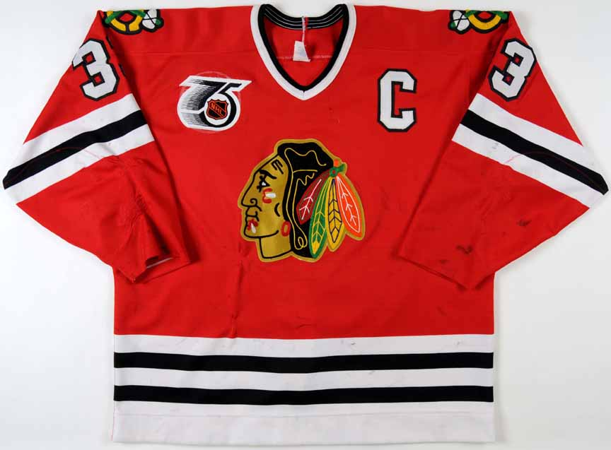 new product 074fe 0f840 chicago blackhawks game worn jerseys