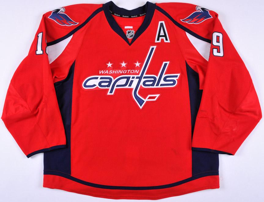 quality design 79815 5e5ce 2013-14 Nicklas Backstrom Washington Capitals Game Worn ...