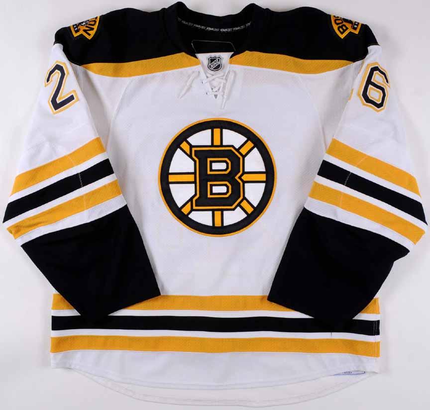 2008-09 Blake Wheeler Boston Bruins Game Worn Jersey