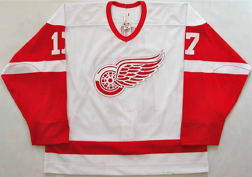 uk availability 3156d 82a64 2002-03 Brett Hull Detroit Red Wings Game Worn Jersey - Team ...