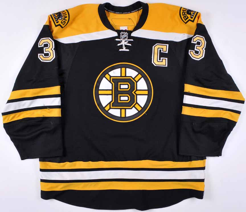 2008-09 Zdeno Chara Boston Bruins Game Worn Jersey - Norris Trophy - Photo  Match ebbdd84f3