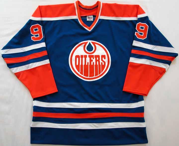 premium selection c79c7 22f64 Wayne Gretzky WHA Oilers Replica Jersey: GAMEWORNAUCTIONS.NET