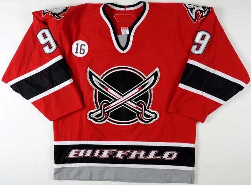 b3b5e6cdb 2005-06 Derek Roy Buffalo Sabres Game Worn Jersey - Alternate -