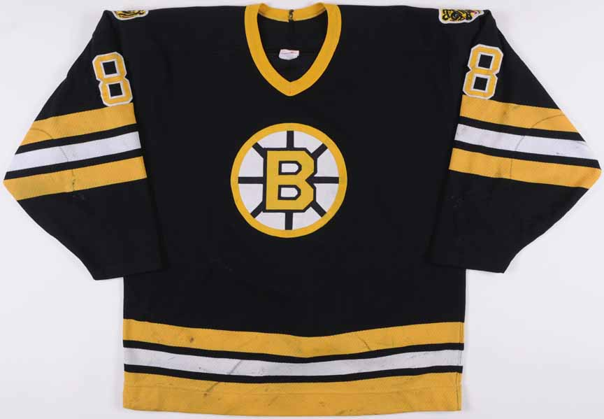 new arrival 912dd e261d 1987-88 Cam Neely Boston Bruins Game Worn Jersey -1st 40 ...