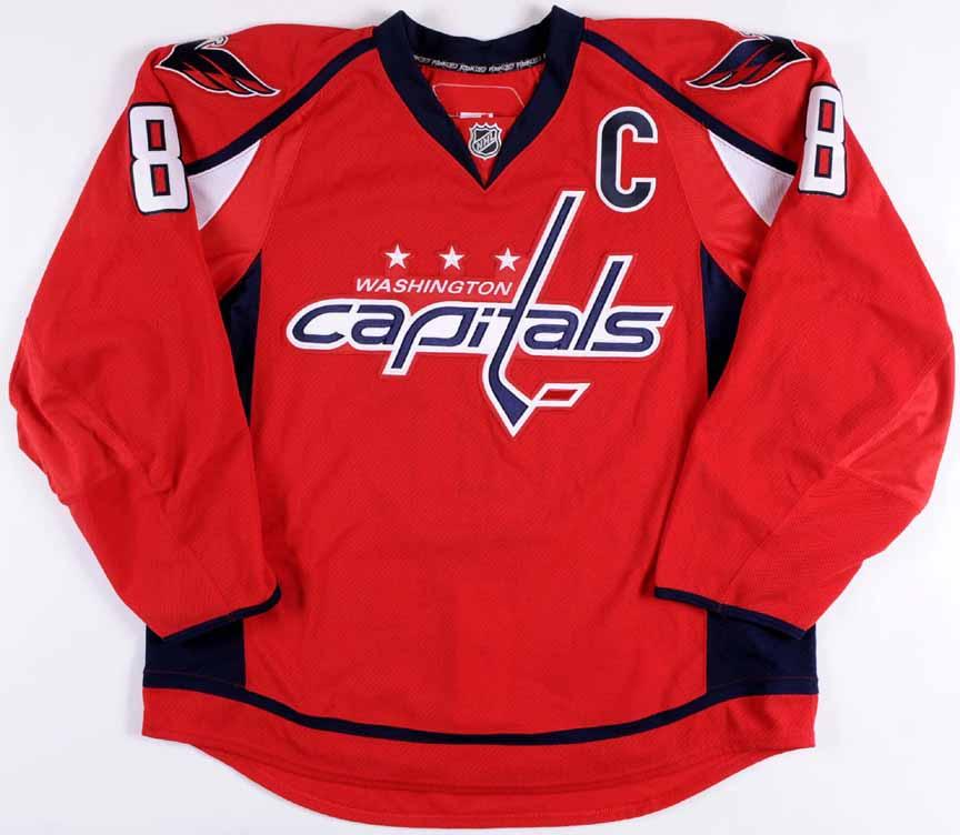 e32d5ad99f4 Alexander Ovechkin Washington Capitals Autographed Authentic Jersey -  PSA DNA