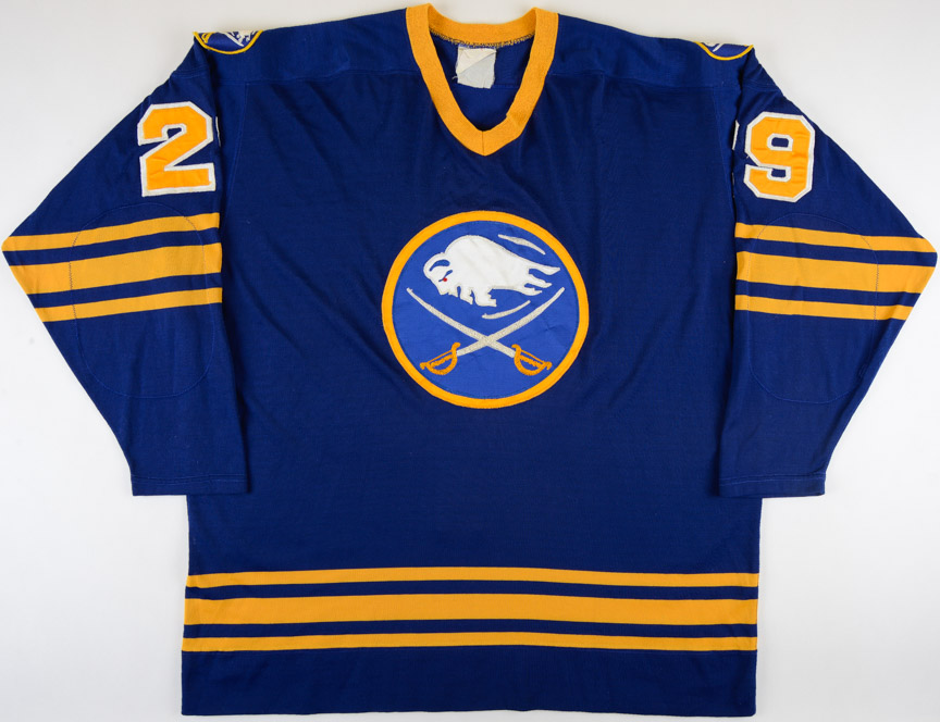 a5ac9f30a39 1981-83 Dave Andreychuk & Val James Buffalo Sabres Game Worn Jersey – Rookie