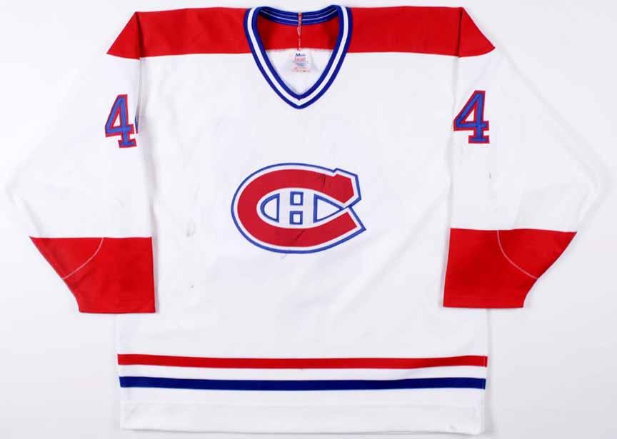 1997 Stephane Richer Montreal Canadiens Game Worn Jersey ... d32c2231c