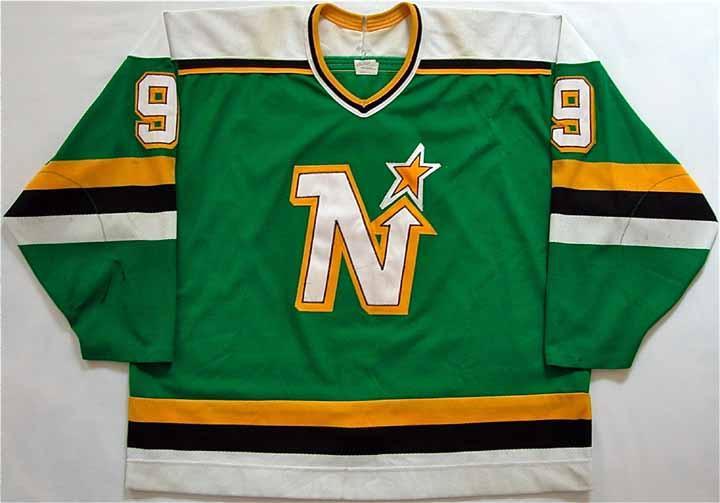 buy popular 1f4cd 5388b 1988-89 Mike Modano North Stars Game Worn Jersey - ROOKIE ...