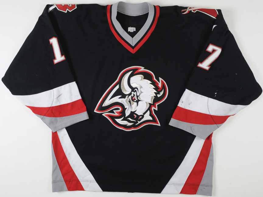 c27836f51c1 2000-01 J.P. Dumont Buffalo Sabres Game Worn Jersey ...