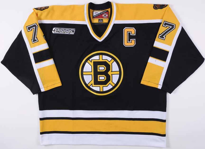e0b06bb4f 1999-00 Ray Bourque Boston Bruins Game Worn Jersey - Final Season in Boston
