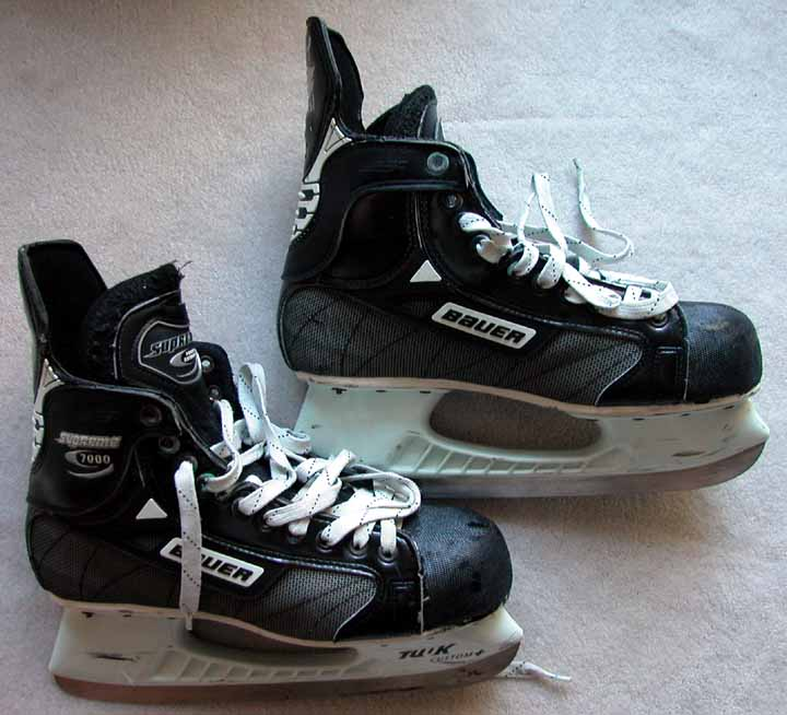 Brett Hull Game Worn Skates - Worn on 12 31 99 When He Scored His ... 44d4af72c75