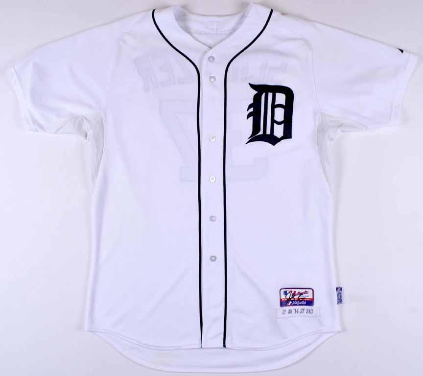 purchase cheap 22ea7 fd683 2014 Max Scherzer Detroit Tigers Game Worn Jersey – 3rd ...