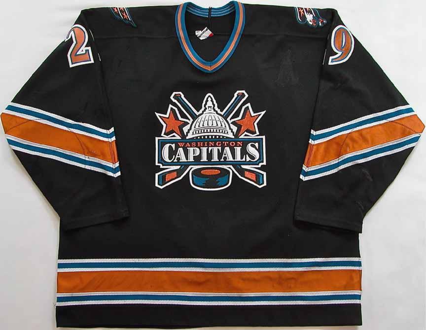 1998-99 Joe Reekie Washington Capitals Game Worn Jersey ... f2a486120ad