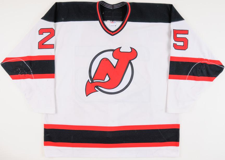 de5dd8495 2001-02 Joe Nieuwendyk New Jersey Devils Game Worn Jersey ...