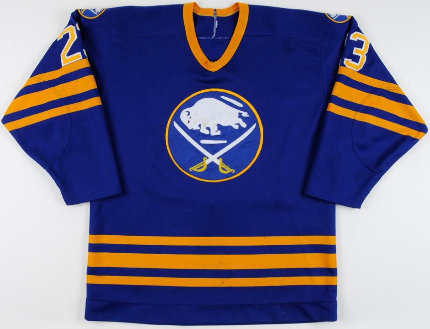 1984-85 Gates Orlando Buffalo Sabres Game Worn Jersey