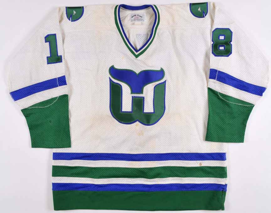 1980-81 Marty Howe Hartford Whalers Game Worn Jersey - The New England  Collection 381abce6a