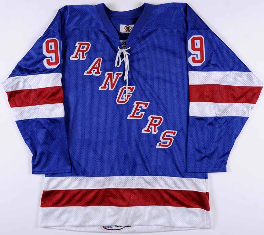 Wayne Gretzky New York Rangers Replica Jersey - 1998-99 Final Season ... 250a87bed11