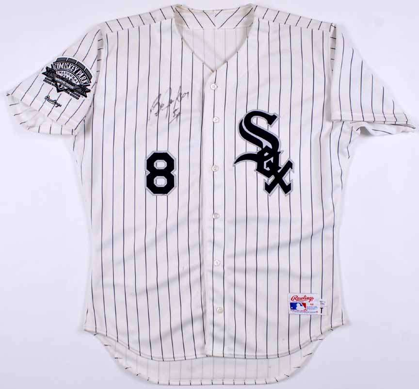 """1991 Bo Jackson Chicago White Sox Game Worn Jersey – """"1991 Comisky Park  Inaugural Year 9efb95e1c"""