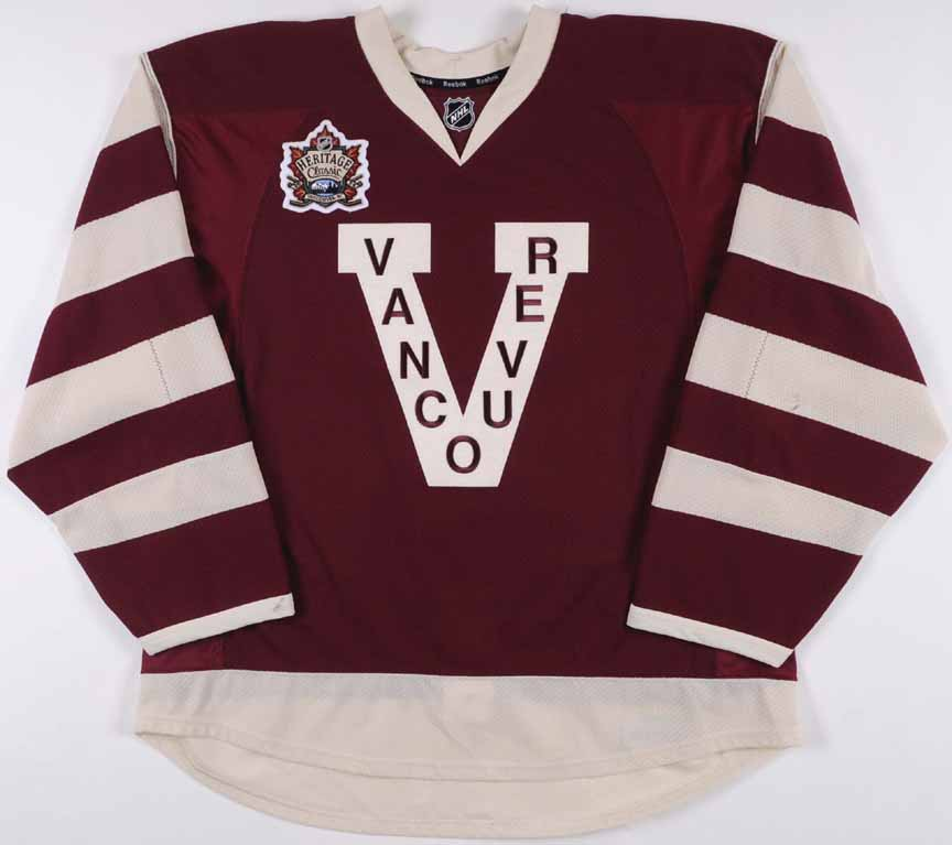 dd8591801 ... promo code for 2013 14 ryan kesler vancouver canucks game worn jersey  millionaires heritage classic 72e87
