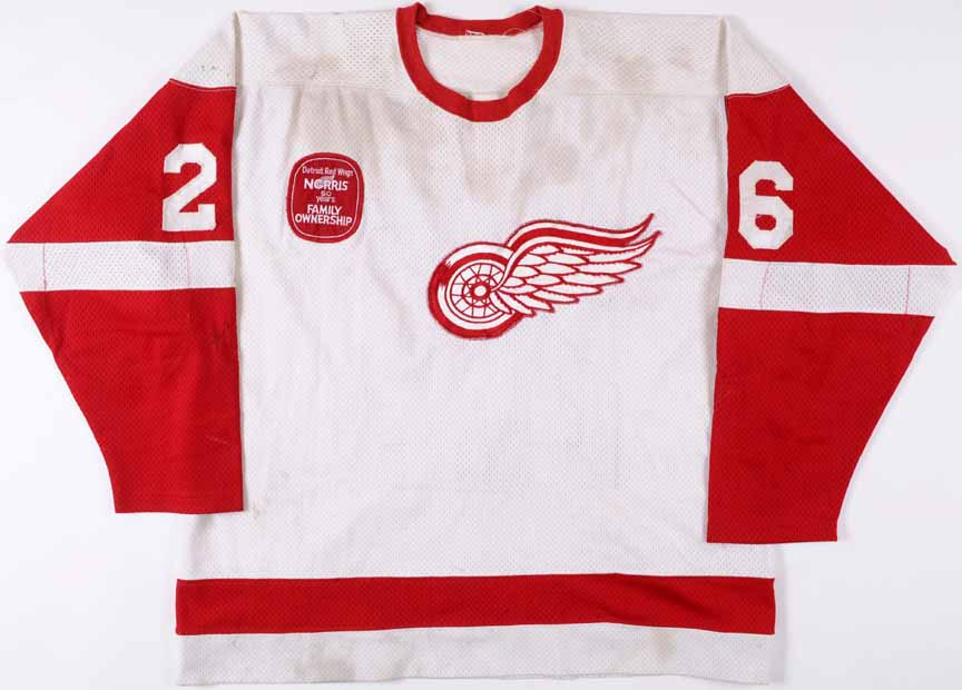 reputable site d0d7c 52964 1981-82 Jim Korn Detroit Red Wings Game Worn Jersey ...