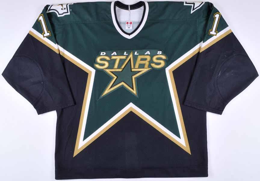 2002-03 Ulf Dahlen Dallas Stars Game Worn Jersey