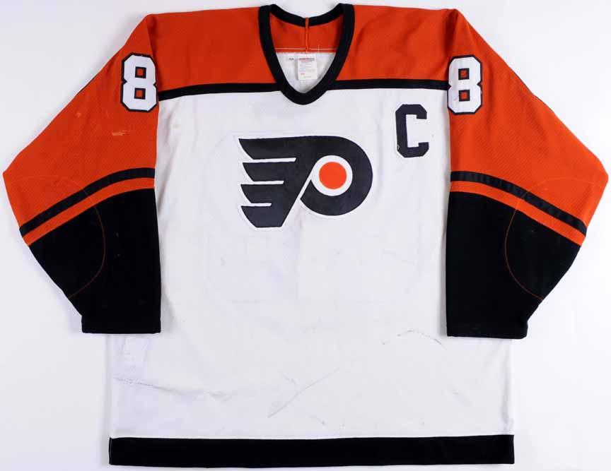 1995-96 Eric Lindros Philadelphia Flyers Game Worn Jersey