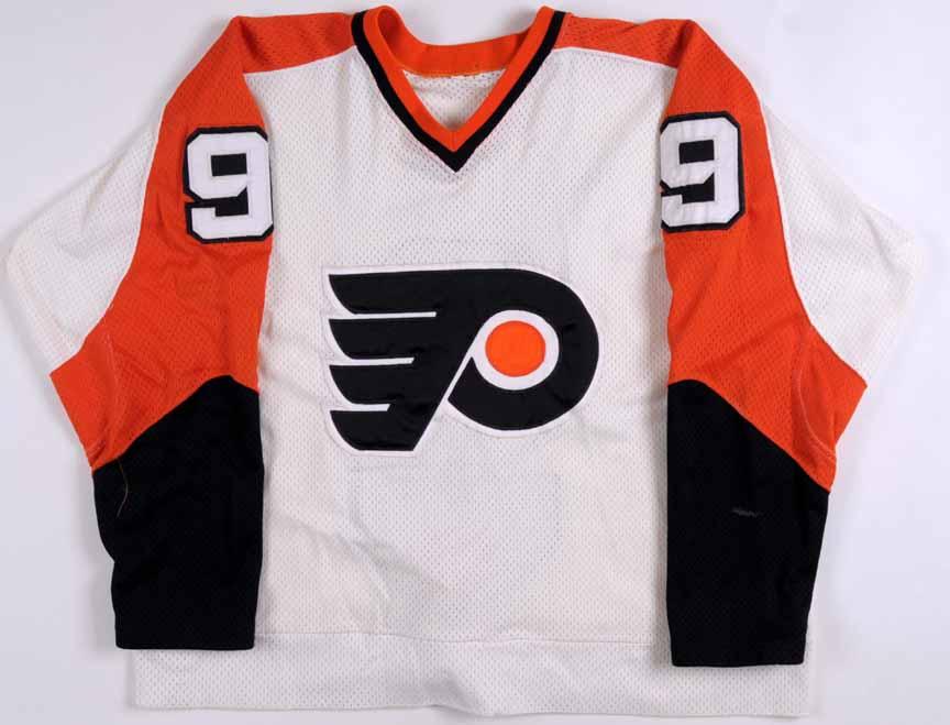 1980-81 Reid Bailey Philadelphia Flyers Game Worn Jersey - Rookie