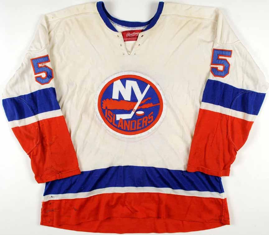 1973-74 Denis Potvin New York Islanders Game Worn Jersey – Rookie - Calder  Trophy 4d6c50643