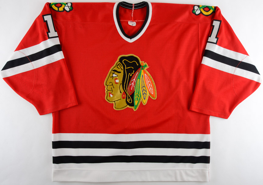0e1db4ce6e9 1988-89 Ed Belfour Chicago Blackhawks Game Worn Jersey – Rookie - First NHL  Jersey